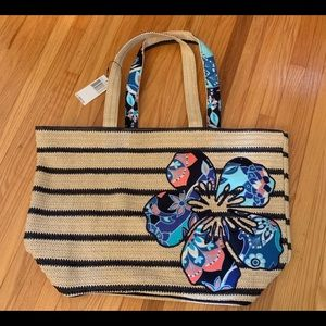 ⚡️⚡️SALE⚡️⚡️Vera Bradley NWT beach bag
